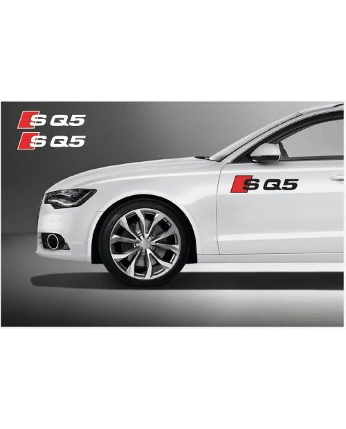 Aufkleber passend für Audi SQ5 side Aufkleber 2Stk. Satz 512 mm