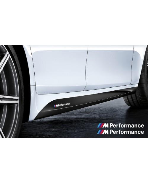 Aufkleber passend für BMW M Performance Aufkleber Seitenaufkleber 200mm - ohne Hintergrund!