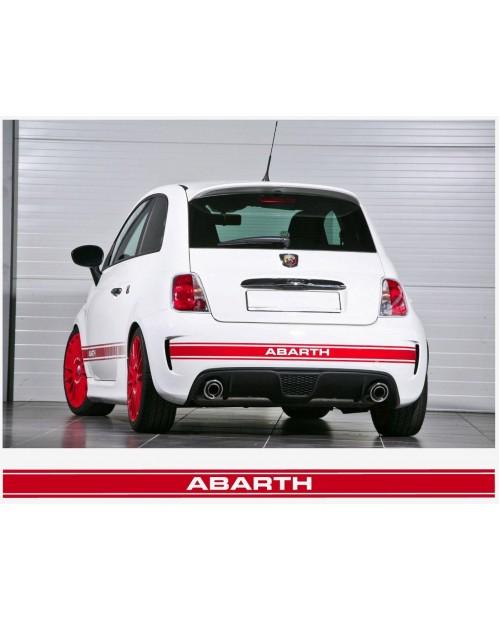 Aufkleber passend für Fiat 500 Abarth Heckstreifen 1800mm x 91mm