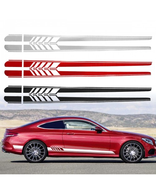 Aufkleber passend für Mercedes Benz Seitenaufkleber 200cm First edition 4Stk. Satz