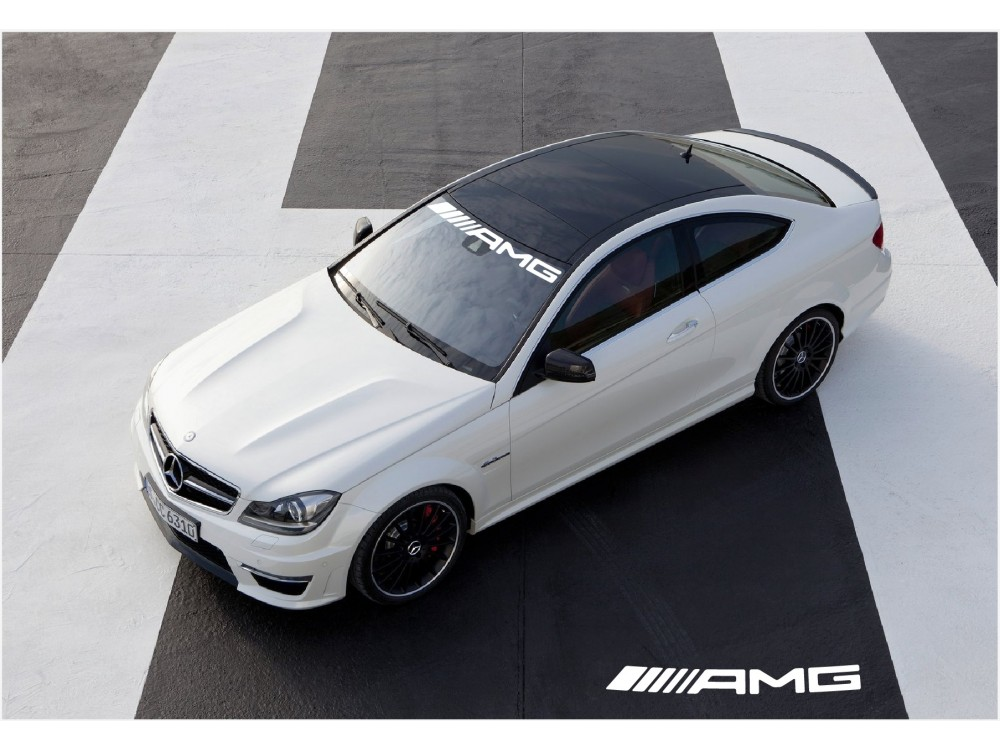 Aufkleber Passend Für Mercedes Benz Amg Frontscheibe