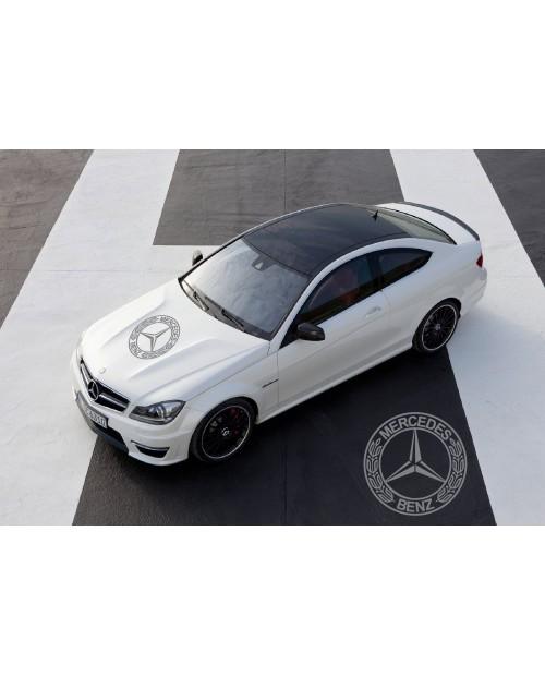 Aufkleber passend für Mercedes Benz AMG Haubenaufkleber 58cm V.1
