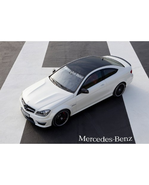 Aufkleber passend für Mercedes Benz Frontscheibe Aufkleber 950mm
