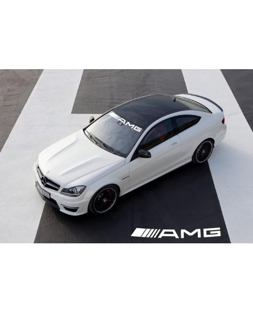 Aufkleber passend für Mercedes Benz AMG Frontscheibe Aufkleber 950mm