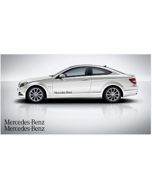 Aufkleber passend für Mercedes Benz Seitenaufkleber 80cm 2Stk. Satz