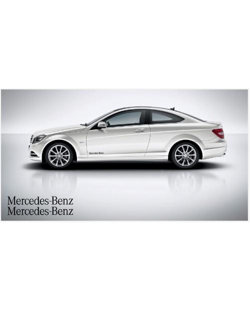 Aufkleber passend für Mercedes Benz Seitenaufkleber 40cm 2Stk. Satz