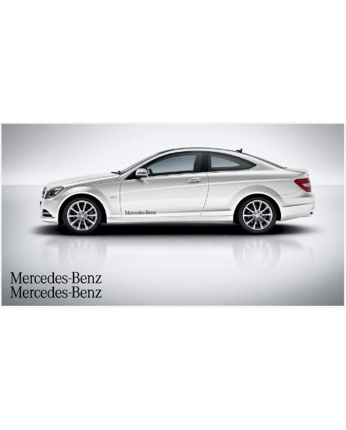 Aufkleber passend für Mercedes Benz Seitenaufkleber 60cm 2Stk. Satz