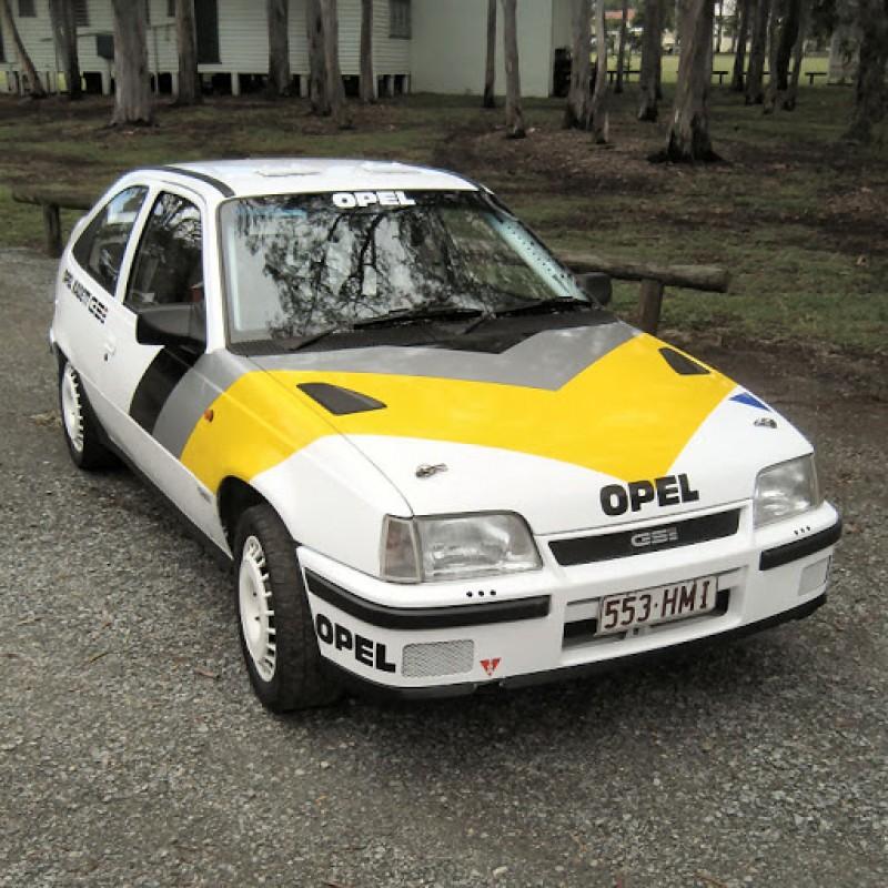 Aufkleber passend für Opel Kadett GSI komplet Satz 11Stk.