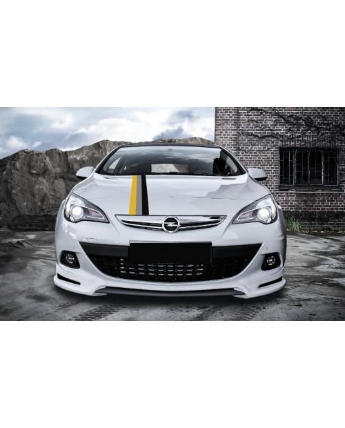 Aufkleber passend für Opel Astra Rennstreifen 15cm x 135cm Aufkleber Satz