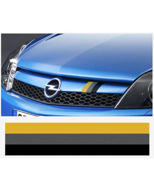 Aufkleber passend für Opel motorsport streifen 22cm x 5cm