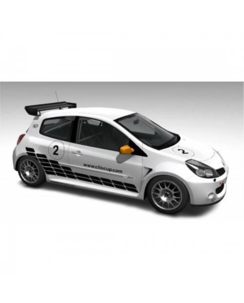 Aufkleber passend für Renault Clio world series sport Aufkleber Satz