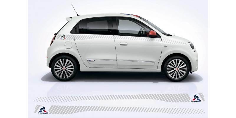 Aufkleber passend für Renault Twingo Seitenaufkleber Le Coq Sportif