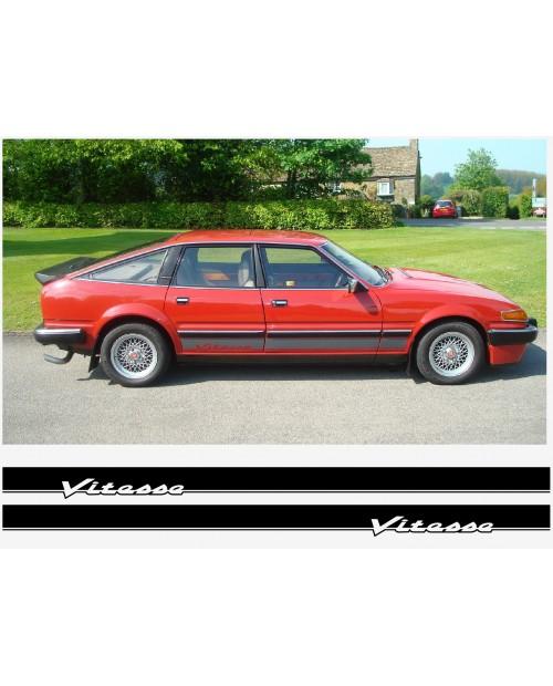 Aufkleber passend für Rover 3500 SD1 Vitesse Seitenaufkleber Satz