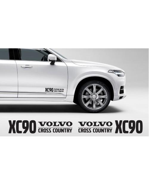 Aufkleber passend für Volvo XC90 Cross Country Aufkleber 400mm