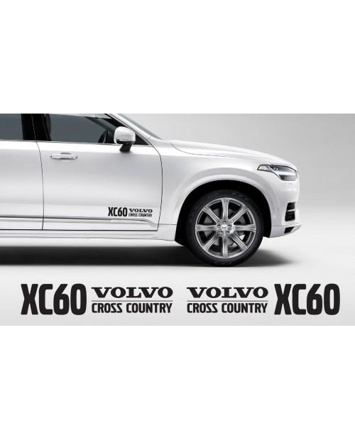 Aufkleber passend für Volvo XC60 Cross Country Aufkleber 400mm