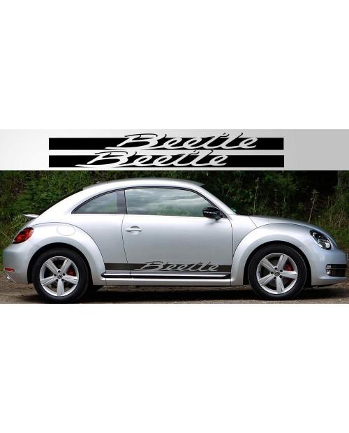 Aufkleber passend für Volkswagen Beetle Script Side Decals