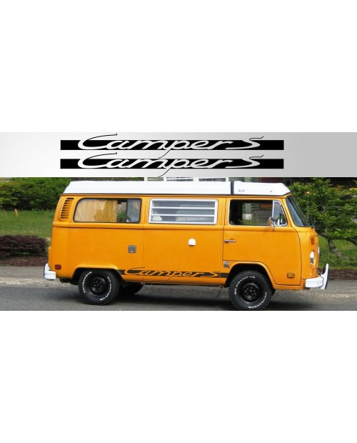 Aufkleber passend für Volkswagen Camper S Vinyl Decal Pair