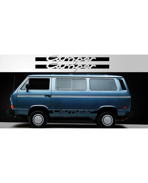 Aufkleber passend für Volkswagen Camper Vinyl Decal Pair