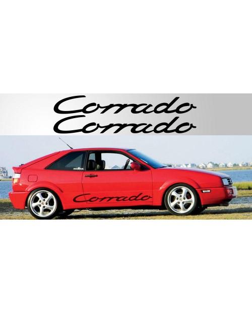 Aufkleber passend für Volkswagen Corrado Vinyl Decal Pair