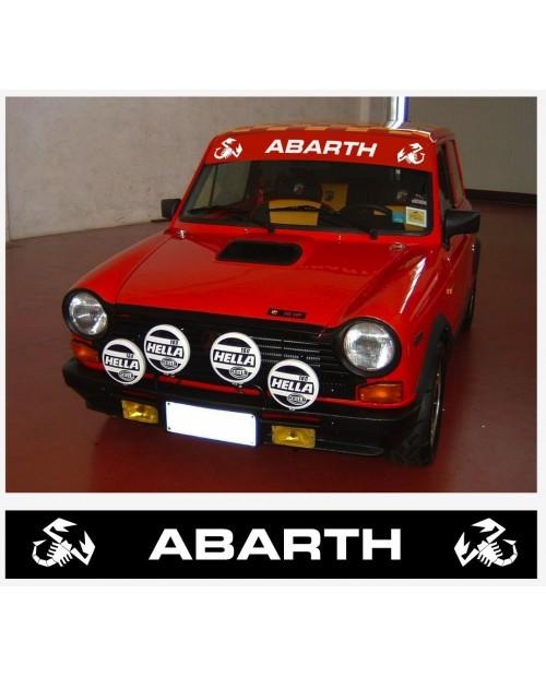 Aufkleber passend für Abarth Frontscheiben Aufkleber