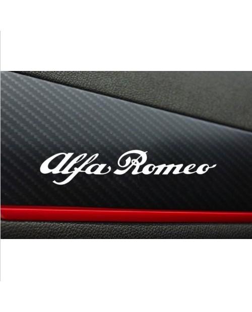 Aufkleber passend für Alfa Romeo Aufkleber 2 Stk. 120mm