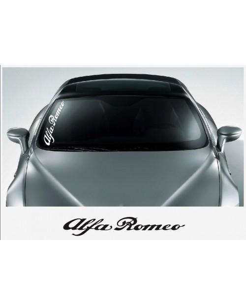 Aufkleber passend für Alfa Romeo Frontscheiben Aufkleber