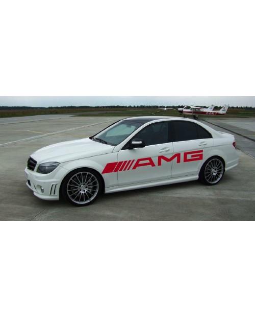 Aufkleber passend für AMG Mercedes Seitenaufkleber 1 Stk. 2100mm