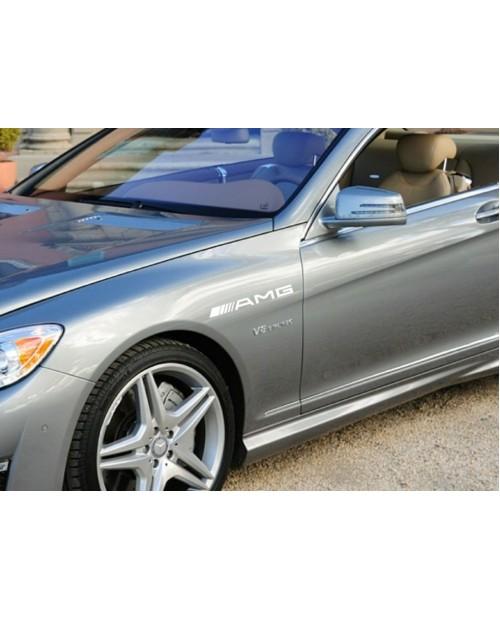 Aufkleber passend für AMG Mercedes Seitenaufkleber 2 Stk. 300mm