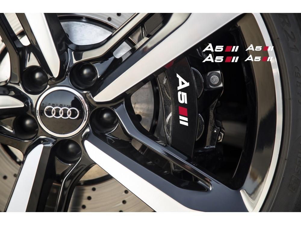 Decal To Fit Audi A5 Brake Caliper Mirror Window Decal