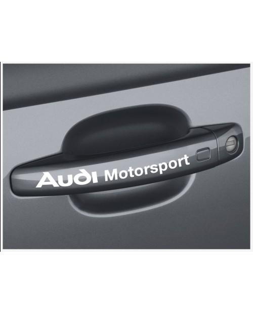 Aufkleber passend für Audi motorsport Türgriff Aufkleber