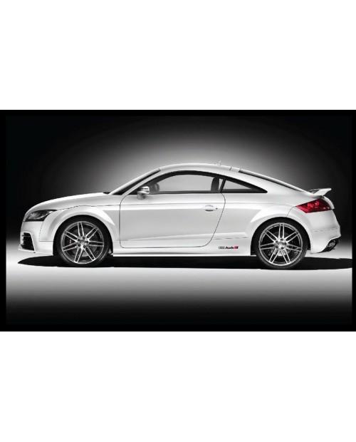 Aufkleber passend für Audi QUATTRO 28cm Seitenaufkleber Aufkleber Satz