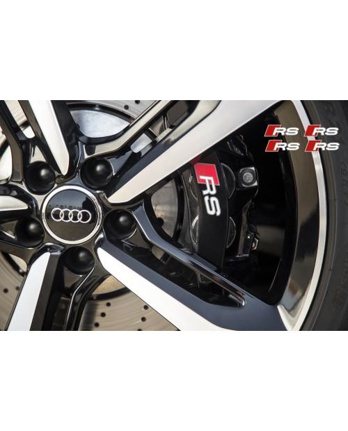 Aufkleber passend für Audi RS Bremssattel Spiegel Fenster Aufkleber