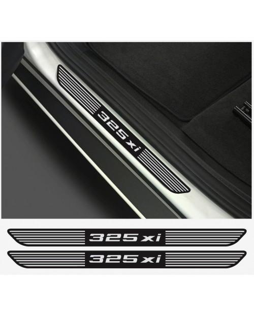 Aufkleber passend für BMW 325xi Aufkleber Einstiegsleistenaufkleber Einstiegsleisten  2Stk.
