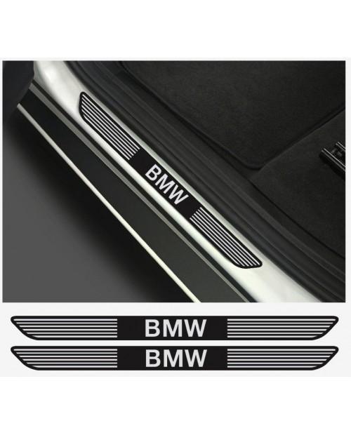 Aufkleber passend für BMW Aufkleber Einstiegsleistenaufkleber Einstiegsleisten  2Stk. Satz