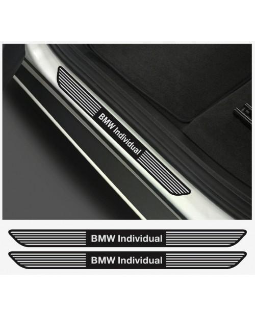 Aufkleber passend für BMW Individual Aufkleber Einstiegsleistenaufkleber Einstiegsleisten  2Stk.