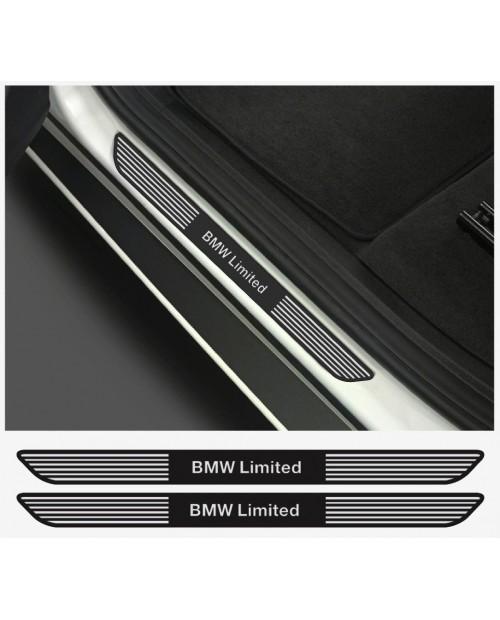 Aufkleber passend für BMW Limited Aufkleber Einstiegsleistenaufkleber Einstiegsleisten  2Stk. Satz