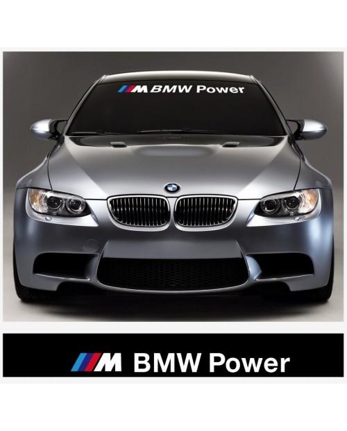 Aufkleber passend für BMW M BMW Power Frontscheiben Aufkleber 1400mm x 200mm