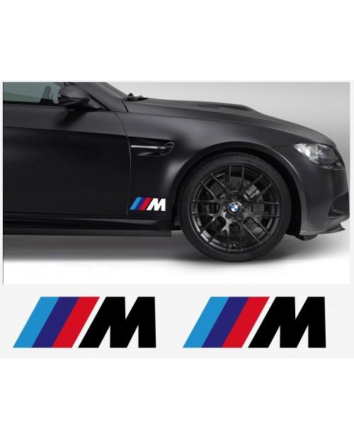 Aufkleber passend für BMW M Champ edition Aufkleber Seitenaufkleber 180mm 2Stk. Satz
