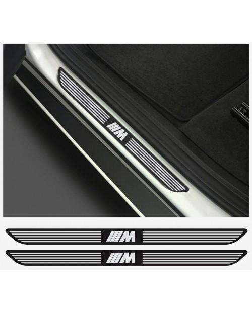 Aufkleber passend für BMW M Aufkleber Einstiegsleisten Einstiegsleistenaufkleber  2Stk. Satz