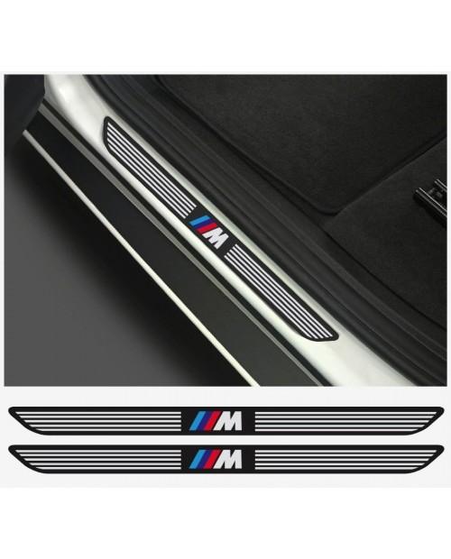 Aufkleber passend für BMW M Aufkleber Einstiegsleistenaufkleber Einstiegsleisten  2Stk. Satz