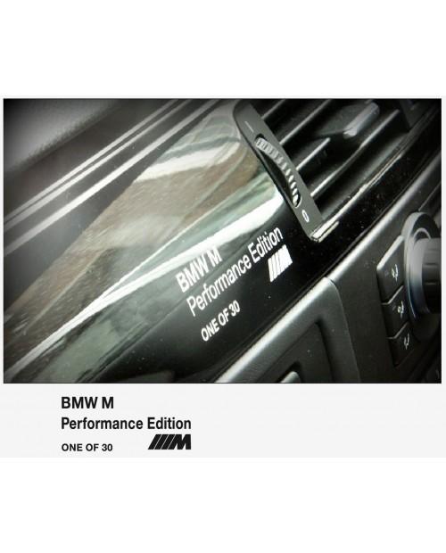 Aufkleber passend für BMW M M5 Performance edition one of 30 Aufkleber 110 mm, 4 Stk