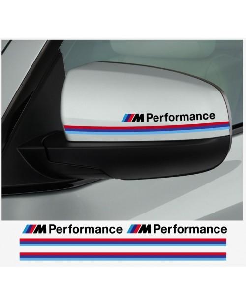 Aufkleber passend für BMW M Performance motorsport Aussenspiegel Aufkleber