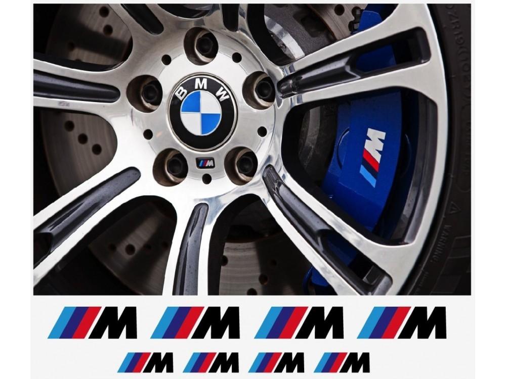 BMW M Window Brake Caliper Mirror Decal Pcs In Set BMW - Bmw m brake caliper decals