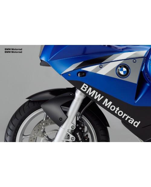 Aufkleber passend für BMW MOTORRAD Seitenaufkleber Aufkleber 40cm 2Stk. Satz