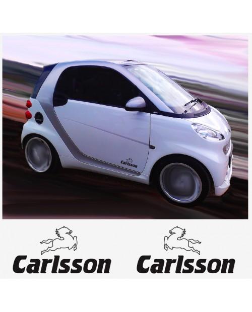 Aufkleber passend für Carlsson Seitenaufkleber Aufkleber 2 Stk. 20 cm