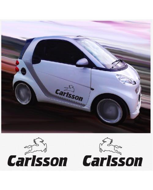 Aufkleber passend für Carlsson Seitenaufkleber Aufkleber 2 Stk. 40 cm