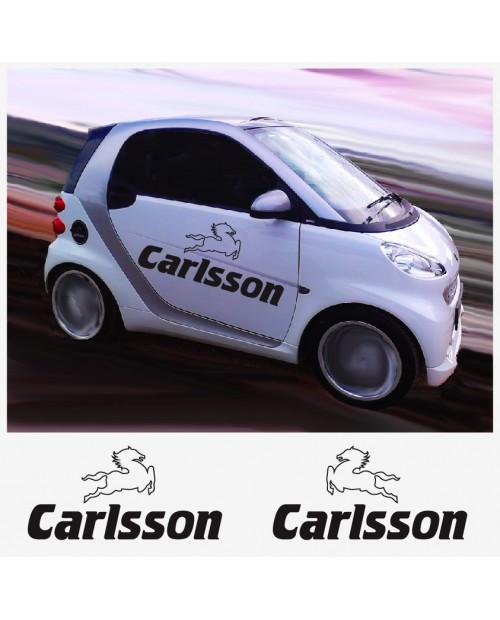 Aufkleber passend für Carlsson Seitenaufkleber Aufkleber 2 Stk. 80 cm