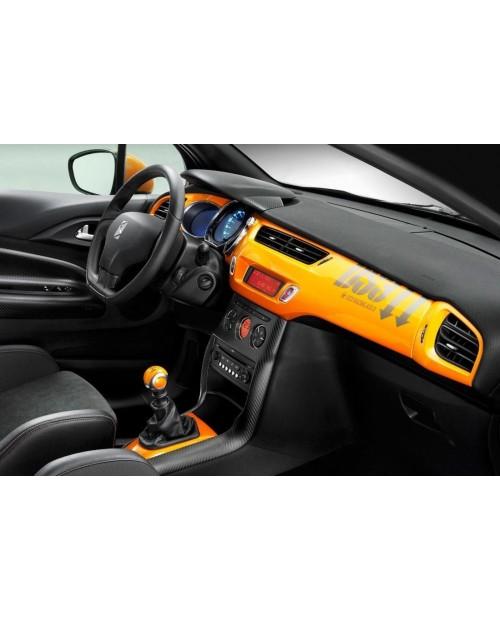 Aufkleber passend für Citroen Racing DS3 Armatur Aufkleber