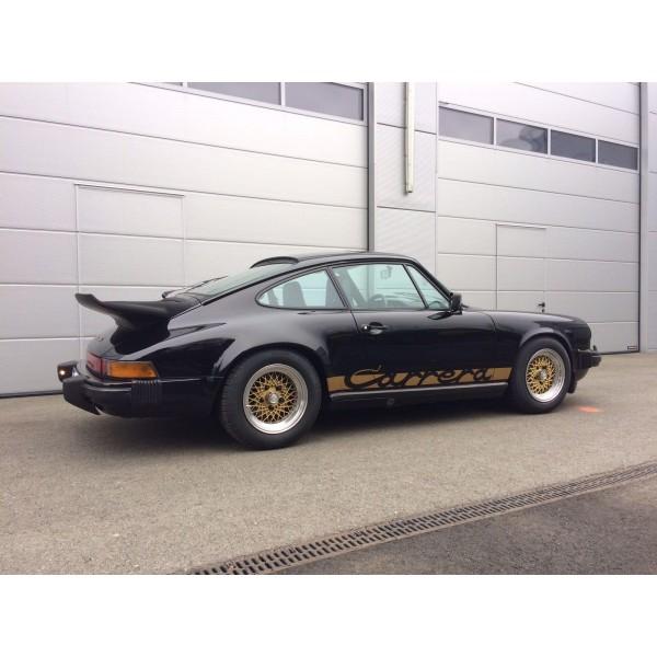 carrera seitenaufkleber - POR0243 - gold
