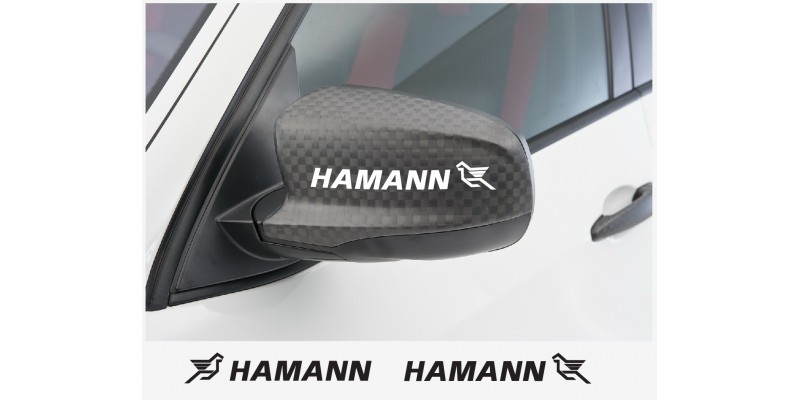 Decal to fit Hamann side decal 2 pcs. 15 cm